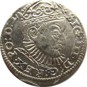Zygmunt III Waza, trojak 1588, Ryga