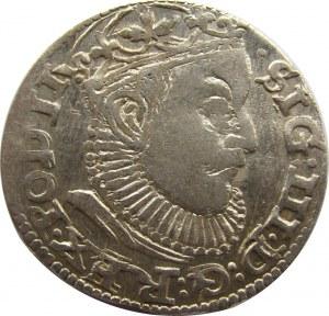 Zygmunt III Waza, trojak 1589, Ryga