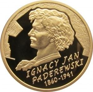 Polska, III RP, 200 złotych 2011, Ignacy Paderewski