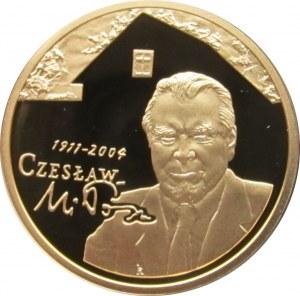 Polska, III RP, 200 złotych 2011, Czesław Miłosz