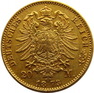 Niemcy, Prusy, Wilhelm I, 20 marek 1873 A, Berlin