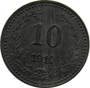 Bydgoszcz, 10 pfennig 1919, piękny!