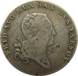 Księstwo Warszawskie, Fryderyk August, talar 1812 I.B., Warszawa
