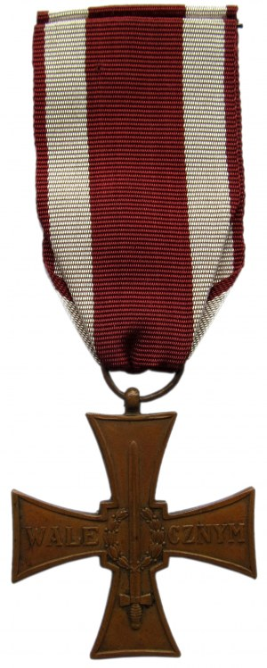 Polska, II RP, Krzyż Walecznych 1944, L7, wstążka