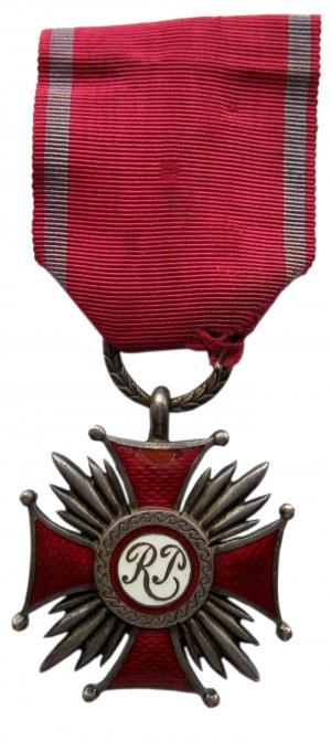 Polska, II RP, Srebrny Krzyż Zasługi, wyk. W. Gontarczyk