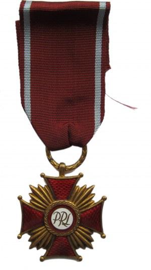 Polska, PRL, Złoty Krzyż Zasługi, wyk. Caritas