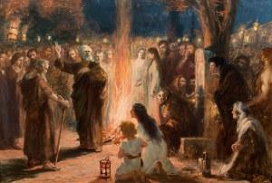 Jan Styka, Święty Piotr nauczający u wejścia do Katakumb, ok. 1902