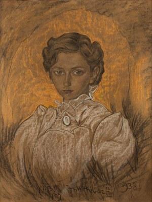 Stanisław Ignacy Witkiewicz Witkacy, Portret kobiety, 12 VIII 1938