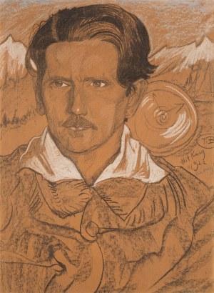Stanisław Ignacy Witkiewicz Witkacy, Portret Jerzego Mieczysława Rytarda, 1922