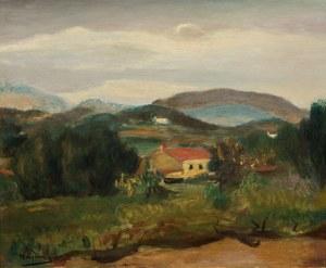 Henryk Hayden, Pejzaż z południa Francji