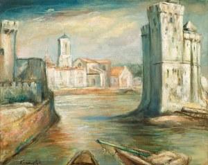 Roman Kramsztyk, Pejzaż z la Rochelle, lata 30 XX w.