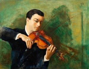 Mojżesz Kisling, Portret skrzypka Nathana Milsteina, 1945