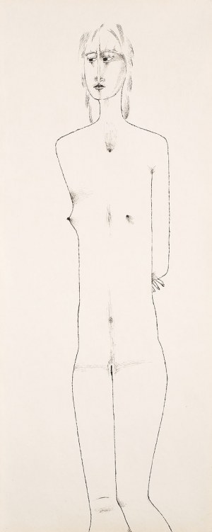Jerzy Nowosielski, Akt, 1980