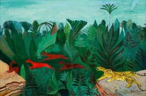 Józef Hecht, Dżungla