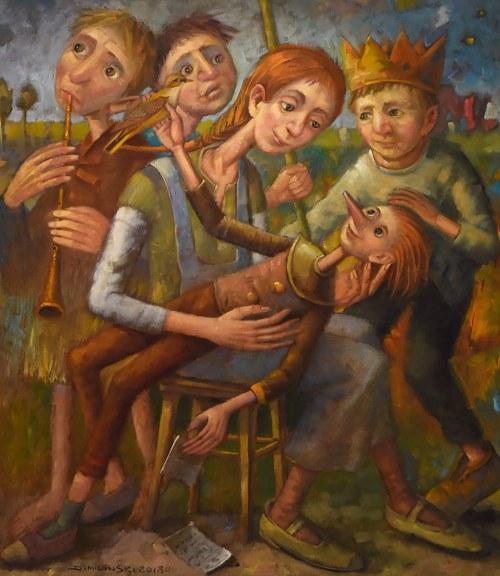 Dariusz Miliński, Ballada o narodzinach, 2018