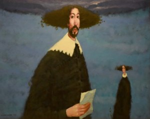 Waldemar Jerzy Marszałek, Wiśniowy sad (zimą), 1999