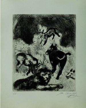 Marc Chagall, Les grenouilles qui demandent un roi, Ur La Fontaines fabler, oryginał