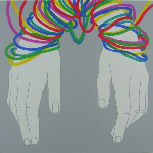 Viola Tycz, Connected 1, 2018