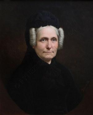 Władysław Bakałowicz (1833-1903), Portret Mme Bourgoin (1890)