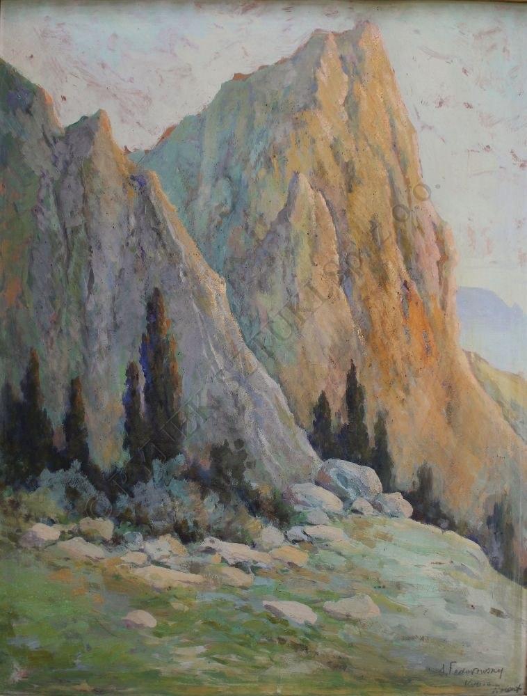 Siergiej Fedorowsky(XX w.), Widok z Krymu