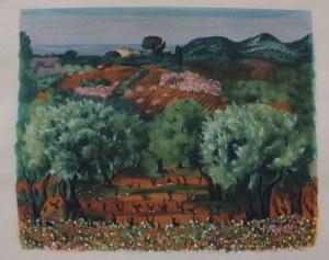 Mojżesz Kisling (1891-1953), Pejzaż z Prowansji(Ilustracja do: Jean Giono, Provence)