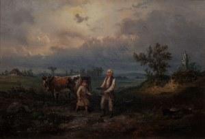 Franciszek Kostrzewski (1826-1911), Przed burzą(1860)