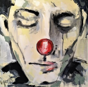 Maciej Hoppe, Clown, 2018