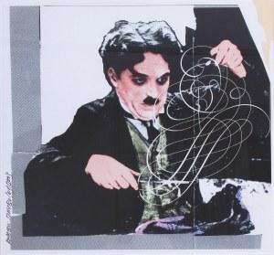 Rosław Szaybo (ur. 1933), Charlie Chaplin, 2003*