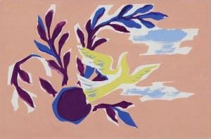 Tadeusz Gronowski (1894–1990), Martwa natura z gołębiem, l. 1970.*