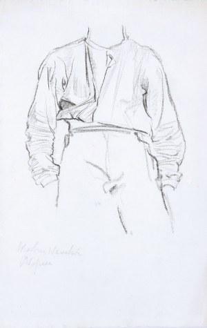Józef Mehoffer (1905–1946), Chłopiec – projekt polichromii do skarbca wawelskiego