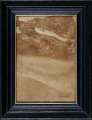 Eugène Carrière (1849–1906), Pejzaż symboliczny II