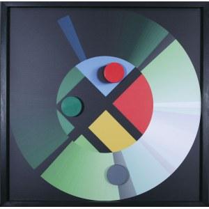Radosław Sowiak (ur. 1950), Warcaby z Mondrianem, 2018*