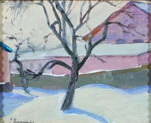 Jerzy Karszniewicz (1878–1945), Pejzaż zimowy