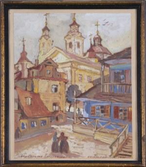 Irena Nowakowska-Acedańska (1909–1983), Widok Krzemieńca, 1936*