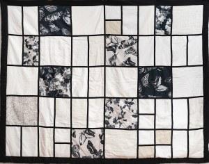 Monika Szambelan-Althamer, Czarne motyle, patchwork