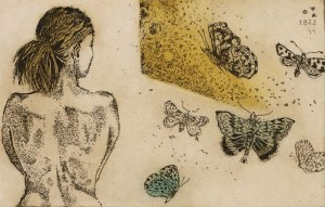 Edyta Purzycka, Dziewczyna i motyle, 2013