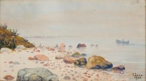 Soter Małachowski-Jaxa (1867 Wolanów - 1952 Kraków), W zatoce, 1934 r.