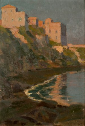 Bronisława Rychter-Janowska (1868 Kraków - 1953 tamże), Willa nad morzem