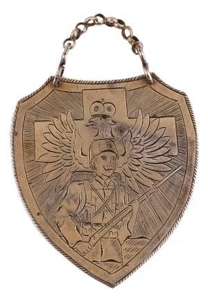 Ryngraf patriotyczny, Bliski Wschód (?), po 1944 r.