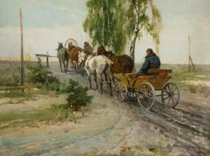 Czesław Wasilewski (1875 Warszawa – 1947 Łódź), W oczekiwaniu, 1924 r.