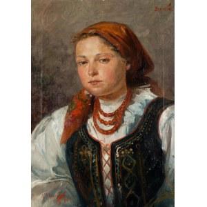 Aleksander Mroczkowski (1850 Kraków - 1927 Stubno k. Przemyśla), Bronka, 1900 r.