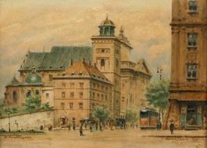 Jerzy Pawłowski (1909-1989), Widok na kościół Św. Anny w Warszawie