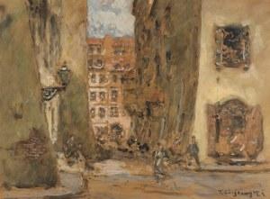 Tadeusz Cieślewski (1870 Warszawa – 1956 tamże), Wąski Dunaj