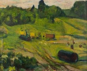 Mieczysław Oracki-Serwin (1912-1977), Tabor w polu