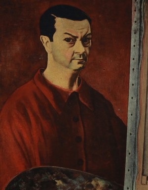 Mojżesz Kisling (1891 Kraków - 1953 Sanary-sur-Mer) - Autoportret