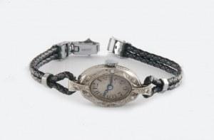 Zegarek platynowy art-deco
