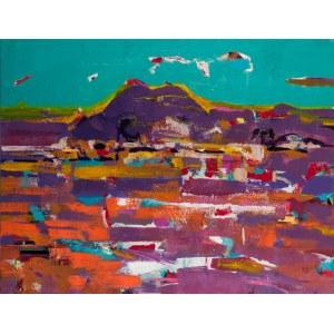 Anna Kostenko (Ur. 1975), Middle East Landscape, 2018