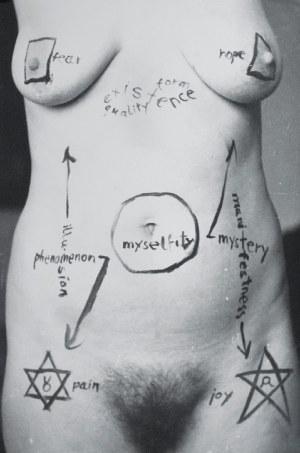 Jerzy TRUSZKOWSKI (ur. 1961), Abstraction on a body, 1984