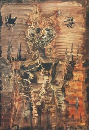 Jerzy TCHÓRZEWSKI (1928-1999), Figura (Spalona postać), 1963/1964