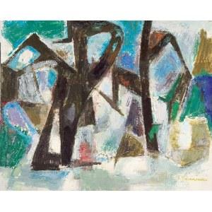 Felicja PACANOWSKA (1907-2002), Vue de St Flour